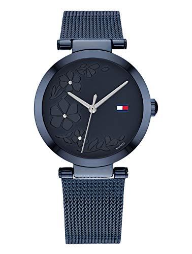 Tommy Hilfiger Reloj Analógico para Mujer de Cuarzo con Correa en Acero Inoxidable 1782239
