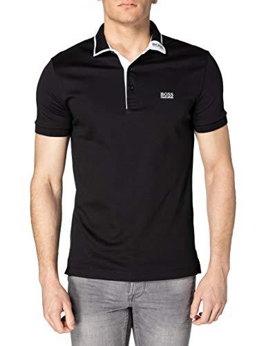 BOSS Paule 1 10210510 01 Camisa de Polo, Negro1, XXL para Hombre