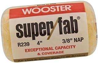 فرشاة ووستر 3/8بوصة Nap Super/Fab غطاء الدوارة