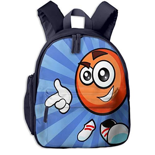 Kinderrucksack Glücklicher Hockeyball Babyrucksack Süßer Schultasche für Kinder 2-5 Jahre