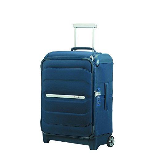 SAMSONITE Flux Soft - Upright 55/20 w/Top Pocket Hand Luggage, 55 cm, 39.5 liters, Blue (Navy Blue)