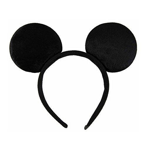 Oreilles de souris douces noires Bandeau à cheveux Bandeau Déguisement