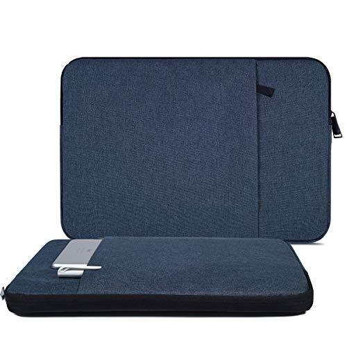 Laptop-Hülle für Asus Chromebook 15/Asus Vivobook/Asus Zenbook Pro 15.6, Acer Aspire 3/5/7, Acer Nitro 5, Flex 5/Ideapad 15.6, Blau