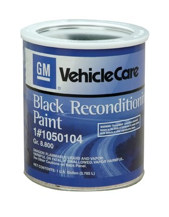 Melrose T-Top Int. 1050104 GM Chassis Black Reconditioning Paint