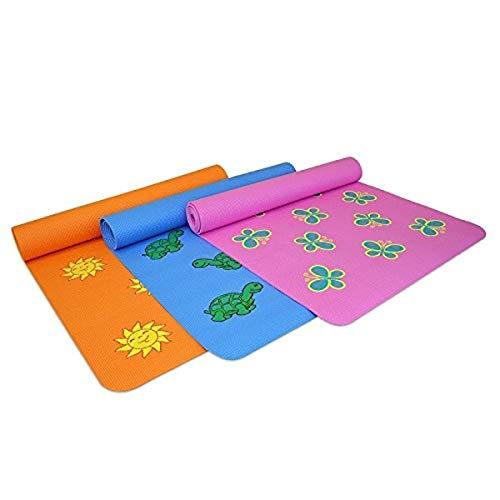 Yoga Direct Y041MATBTFKD - Tappetino da yoga per bambini, assortito, 6 mm