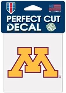 Wincraft NCAA University Minnesota Golden Gophers Logo 4 x 4 inch Outdoor Color Decal
