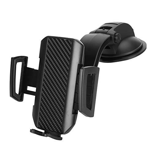Soporte para teléfono para automóvil, Soporte para teléfono Celular Manos Libres Ajustable con rotación de 360 Grados para automóvil, Soporte Universal para teléfono para automóvil