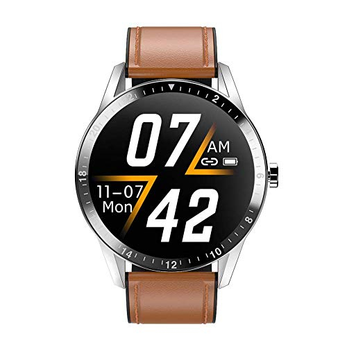 Gymqian G20 Smart Watch Hombres Impermeable Bluetooth Llamada Presión Arterial Muñecas de Moda Fitness Tracker Sports Smart Watch Moda/E