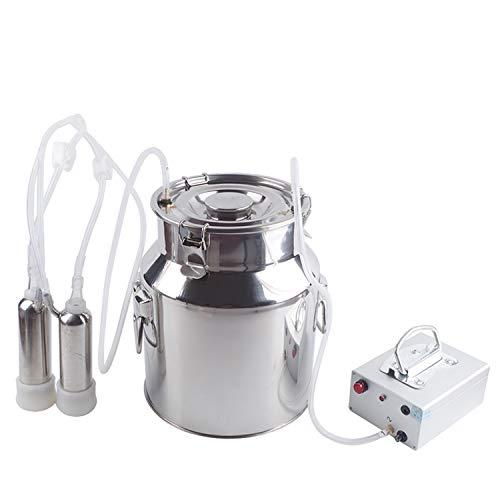 JINDIAN Kuhmelker - Melkmaschine - Zubehör Pulsator Melker Kuh mit Edelstahl Aluminiumlegierung elektrische Melkpumpe