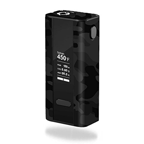 MightySkins Skin Compatible with Joyetech Cuboid 150W TC – Black Camo | Protective, Durable, and Unique Vinyl Decal wrap Cover | Easy to Apply, Remove, and Change Styles | Made in The USA