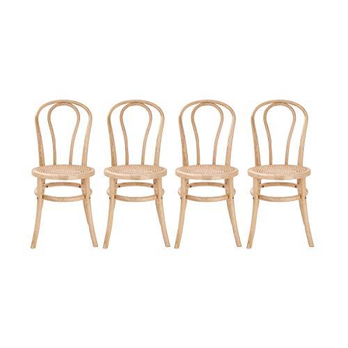 Butlers Wiener Melange Stuhl 4er-Set