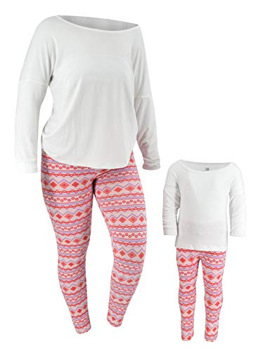 Unique Baby Girls Valentine's Day Mommy and Me Matching Outfits (18m) Pink