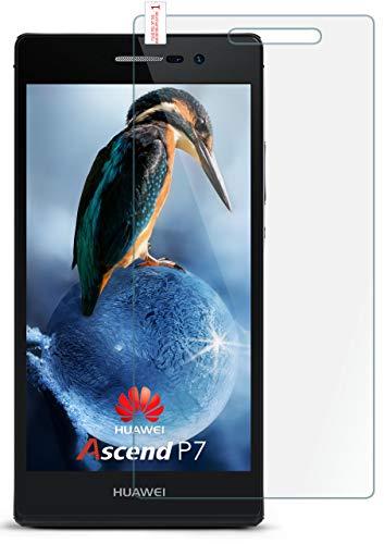 MoEx 9H Panzerfolie für Huawei P7 | Panzerglas Bildschirm Glasfolie [Tempered Glass] Screen Protector Glas Bildschirmschutz-Folie für Huawei Ascend P7 Schutzfolie