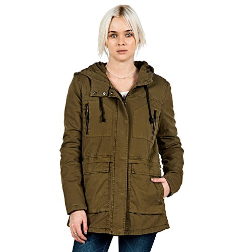 Volcom Damen Jacke Stand Up Jacket, Lentil Green, S