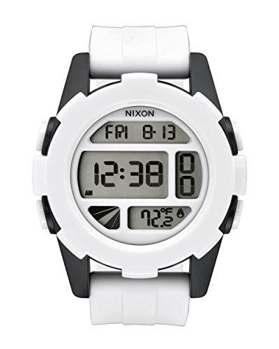Nixon Herren-Armbanduhr Unit Stormtrooper White Digital Quarz Silikon A197SW2243-00