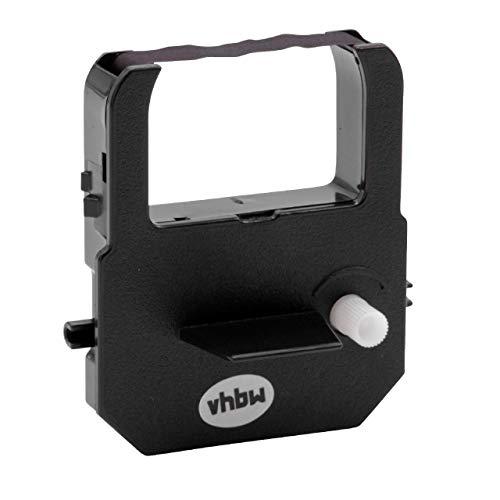 vhbw Farbband Schriftband passend für Seikosha QR-350, QR-370, QS-100, ST 10 Bondrucker, Nadeldrucker schwarz