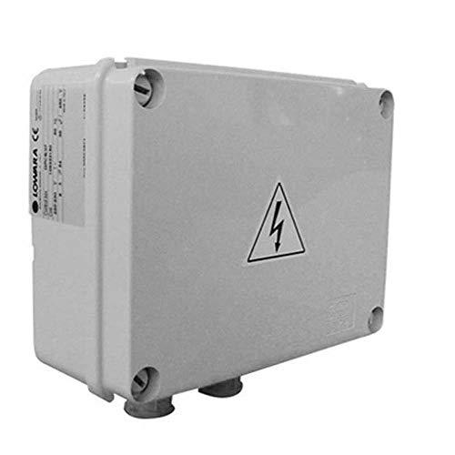 """Lowara - Cuadro eléctrico monofásico para bombas sumergibles de 4"""" Kw 1.1 Hp 1.5"""