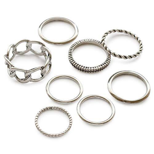 [ジュエルボックス] JewelVOX リング マルチデザインセット 指輪 【B】シルバー