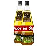 Maille Sauce Vinaigrette Basilic, Saveurs 'faits maison' 1l - Lot de 2