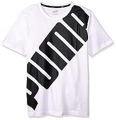 Puma Camiseta Manga Corta Hombre con Logo Grande