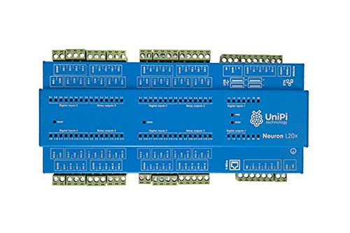 UniPi Neuron L303 (incl. Raspberry Pi 3) - Monitor & Manage Anything - AddOn Expansion Board for Home Automation, Monitoring, Data Collection, Motor Control, etc