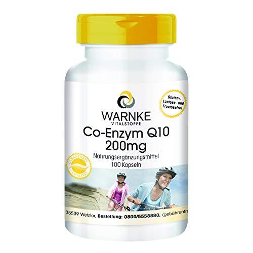 Coenzima Q10 200mg - Ubichinone - 100 capsule - Vegan