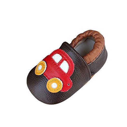 Zapatos para bebé Primeros Pasos Zapatillas Infantiles para Niño/Niña Antideslizante Respirable Máquina (12-18 Meses)
