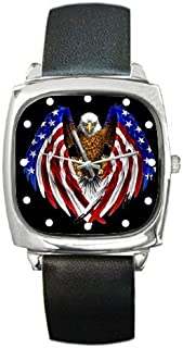 Best square american flag watch Reviews