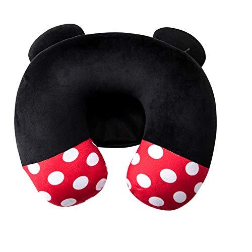 yuanyuanliu Almohada De Cuello En Forma De U, Modelado De Dibujos Animados Arroz Mouse Adaptador Almohada, (Color : B)