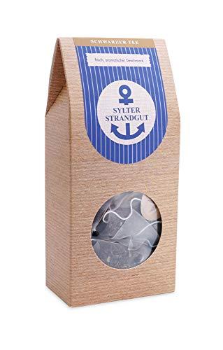 Schwarzer Tee im Pyramidenbeutel aromatisch Darjeeling 1st Flush Lucky Hill - Sylter Strandgut 15 Beutel Mehr Meer Sylter Teekontor
