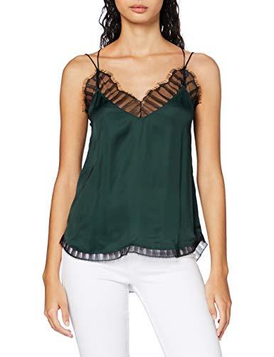 Replay Damen W2278 .000.83886 Träger/Cami Ausschnitt Shirt, 879 Pine Grove, XS