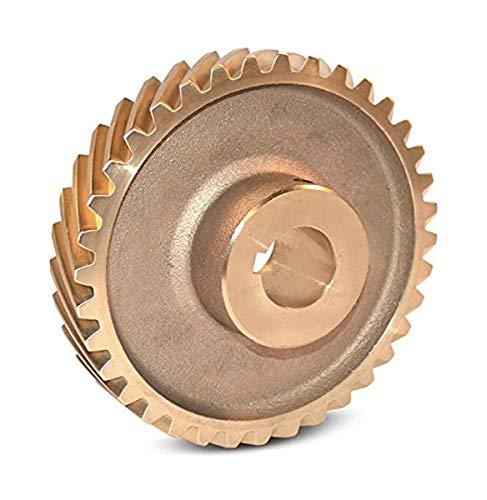 Boston Gear HB636R Web Helical Gear, 45 Degree Helix, 14.5 Degree Pressure Angle, 1.250 Bore, 6 Pitch, 36 Teeth, Bronze, RH