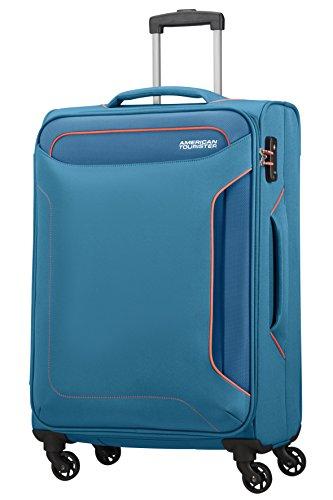 American Tourister Holiday Heat Spinner 67/24, 66 L - 3.2 KG Equipaje de Mano, 67 cm, Liters, Azul (Denim Blue)