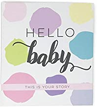 Memory Baby Book Girl 52 Pages Birth to Five Years, Focused on Baby by Bobee