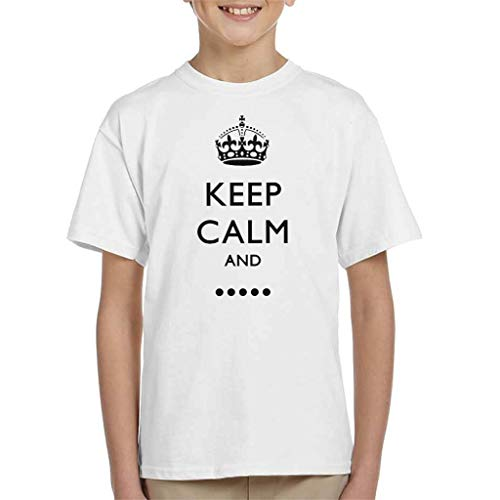 Keep Calm and Fill In The Blank Kid's T-Shirt
