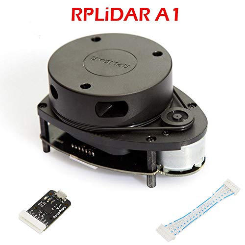 Slamtec RPLIDAR A1M8 2D 360 Degree 12 Meters Scanning Radius LIDAR Sensor Scanner for Obstacle Avoidance and Navigation of Robots