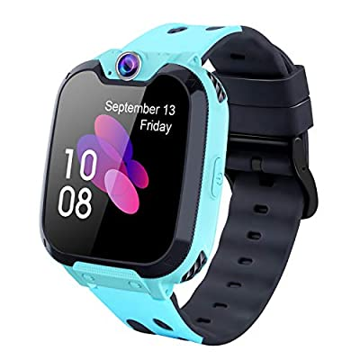 Kids Smart Watch for Boys Girls - HD Touch Screen Sports Smartwatch Phone with Call Camera Games Recorder Alarm Music Player for Children Teen Students from MeritSoar