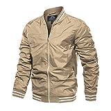 Mens Fall Jacket Outerwear For Mens Windbreaker Jackets No Hood Lightweight Bomber Jacket Men Varsity Jacket Men Casual Jacket Outdoor Jackets Baseball Jacket Men