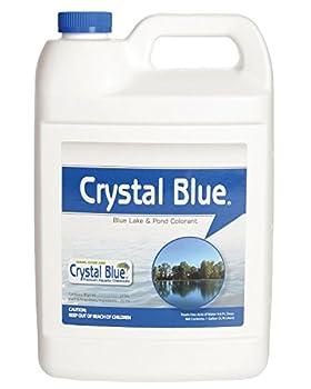 Crystal Blue Lake and Pond Dye - Royal Blue Color - 1 Gallon