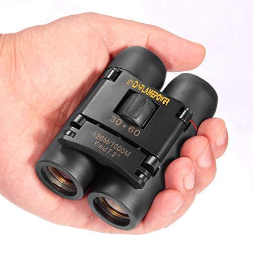 Dreampower Fernglas-Teleskop, 30x 60,kompakt, faltbar, mit Nachtsicht bei wenig Licht, für Kinder/Erwachsene/für Outdoor/Vogelbeobachtung/Reisen/Sightseeing/Jagen