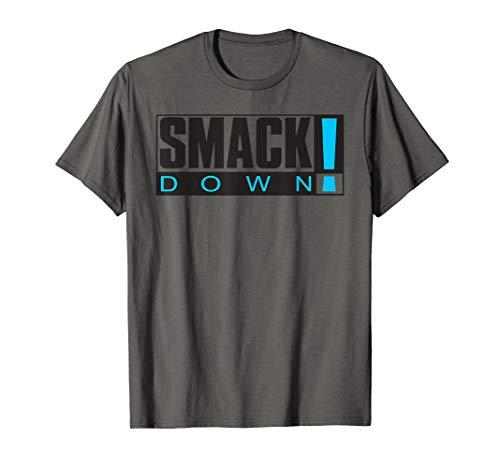 WWE SmackDown Retro Logo Graphic T-Shirt