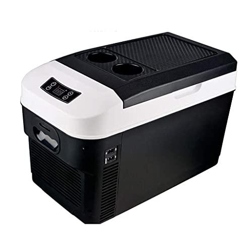 HRRF 15L / 20L Mini refrigerador y refrigerador para automóviles, Viajes, hogar - Caja de refrigeración de automóviles portátil/Caja de Viaje pequeña