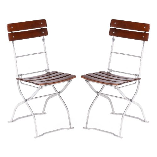 where to buy beer garden folding chair set of 2 truman styron. Black Bedroom Furniture Sets. Home Design Ideas