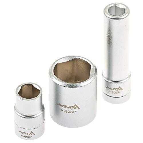 Asta A-B03P Steckschlüssel Dreikant Nüsse geeignet für Bosch Einspritzpumpen VE VP37 Delphi Kikki