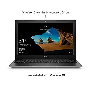 Dell Inspiron 3593 15.6-inch Laptop Intel 10th Gen Corei3/4GB/1TB/Windows 10 Home Single Language + MS Office Lifetime…