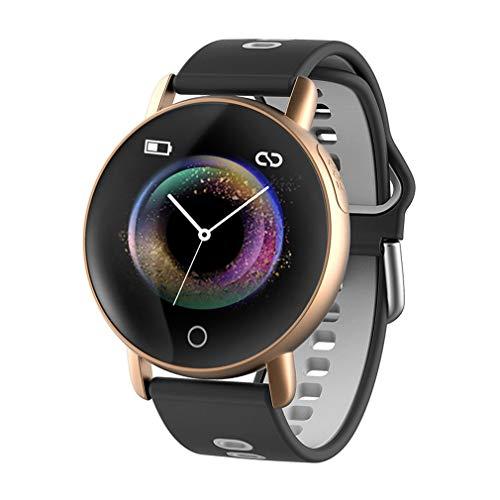 JIEGEGE Smart Wear Armband, Bluetooth Schrittzähler Sportarmband, Smart PPG EKG Blutdruck Männer Frauen Uhren Fitness Tracker, Für Android Und IOS