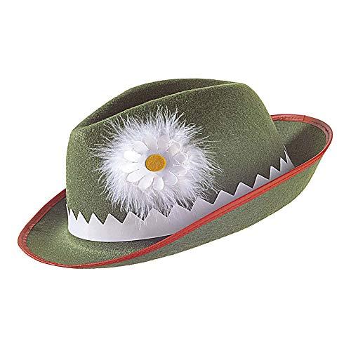 Widmann - hoed met edelweiss en veren