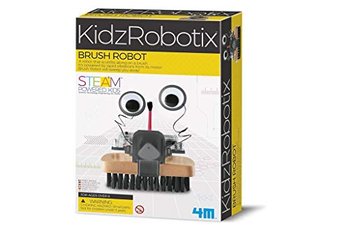 Great Gizmos - Dam - Kit de fabrication - Fun Mechanics : Robot brosse - Langue: anglais