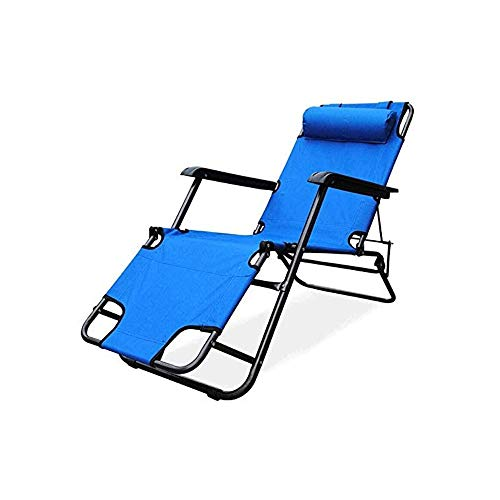 TWDYC Folding Zero Gravity Chair Recliner for Office Beach Chair with Armrest Adjustable Lounge Chair Breathable Fabric