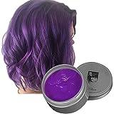 Temporäre Haarfarbe Farbstoff Non-permanent DIY Haarfarbe Wachs Schlamm Washable Farbiges Haarfarbe...